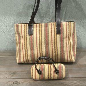 Final Price Worthington Handbag w/ Sunglasses Case
